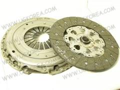 Диск сцепления+Корзина сцепления K.SORENTO с 09г.,H.SANTA FE V2.2 с 10г. ориг. (41200-3B000) диск бездемпферный
