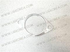 Прокладка глушителя H.SANTA FE NEW,SANTA FE CM V2.2 диз,VERACRUZ V3.0 диз./3.8 бенз.,K.CADENZA,RIO с 09-11г. V1.4 бенз.,SORENTO XM V3.5 бенз. ориг. (28751-2B100) бочка
