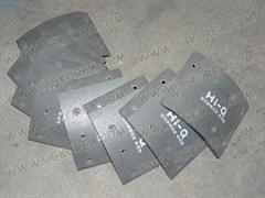 Накладки тормозные FR K.GRANBIRD  до 06г. (AA96A-33725) ширина 145мм. в ком. 8 шт.