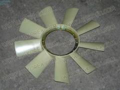 Вентилятор радиатора двигателя S.Y.ISTANA,MUSSO,MUSSO SPORTS,KORANDO c 96-05г. ориг. (6022050506) для вискомуфты с центральным болтом