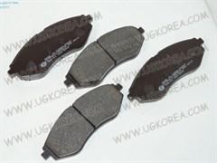 Колодки тормозные FR D.KALOS/AVEO II/T250/T255 до 12г.,GENTRA,NUBIRA  (FPD13/EDD-9056/SP1158) 133*48.9мм.