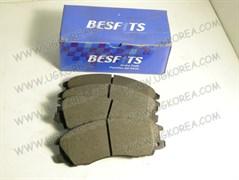 Колодки тормозные FR H.TERRACAN с 01-03г. BESFITS (BF1017/SP1097/FPH12/58101-H1A00/58101-H1A10) 149*57.9мм.