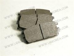 Колодки тормозные RR H.TERRACAN с 01-06г. MOBIS BESFITS (BR1006/58302-H1A00/SP1097-R/SP1098/FPH12R) 110.6*46.4мм, дисковые