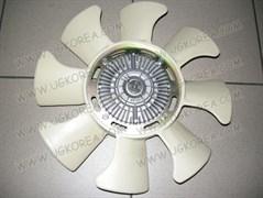 Вискомуфта K.BESTA с 94г. V2.2 дв.R2  (GWK-05F/0K770-15140C)  GMB  Корея, с вентилятором