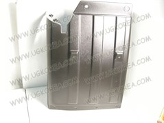 Брызговик FR K.BONGO III 1,2т./1,4т. 2WD ориг.(86811-4E041) LH, верхняя часть (пластм.)