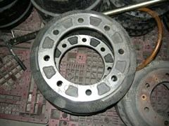 Барабан тормозной RR, D.BS106 до 96г. (96128762) ширина колодок 200мм.