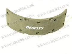 Накладки тормозные FR/RR H.COUNTY,MIGHTY,HD65/HD72 с 98-04г. BESFITS (BL1001/58144-45A60) ширина 85мм, в ком. 4 шт.