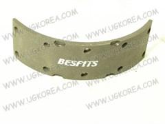 Накладки тормозные FR/RR H.COUNTY,MIGHTY,HD65/HD72 с 98-04г. BESFITS (BL1001/58144-45A60) ширина 85мм.