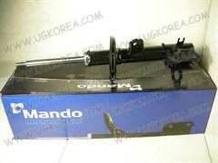 Амортизатор FR, D.MATIZ NEW III/SPARK(M300) с 10г.,RAVON R2 (узбек.сбор) с 17г. V1.0/1.2 DOHC (EST10007W/95032447) LH,  MANDO  Корея, газо-масл. с кронш. ABS и кронш. крепления линка