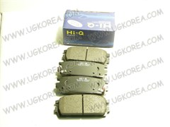 Колодки тормозные RR H.TERRACAN с 01-06г. (SP1098/58302-H1A00)   SANGSIN  Корея, 110.6*46.4мм, дисковые