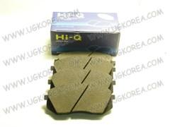 Колодки тормозные FR H.TUCSON/iX35 2WD/4WD,SONATA YF с 09г.,i40 с 11г.,K.SPORTAGE SL,(SPORTAGE словен.) с 10г. 2WD/4WD,CARENS с 06г.,K-7 17  (SP1196/FPK25/58101-3ZA70/BF2032/1DA00)  SANGSIN  Корея, 137.7*60.9мм.