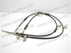Трос ручного тормоза D.MATIZ I,II/SPARK V0.8/1.0 (30644/HQ96518596/96518596) барабанный механизм