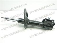 Амортизатор FR, K.RIO с 06-11г.,PRIDE с 05г. (KMS017R/54660-1G000) RH,  KORMAX  Корея, с кронштейном ABS, газо-масл.