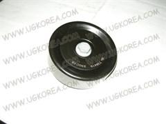 Ролик ремня генератора H.AVANTE HD/ELANTRA с 06г.,ACCENT/SOLARIS с 10г.,K.CEED с 06г.,CERATO/FORTE с 10г.,RIO с 11г. V1.6 DOHC (T36419/PB-7217/DJ34302-73/25286-2B000/25286-2B010)  GATES , обводной D95мм.