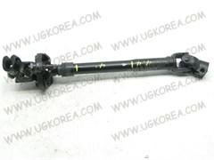 Вал с крестовиной от редуктора к рулевой колонке K.BONGO III с 06г. 1т. 2WD (EX563704E000/56370-4E001)  MANDO  Корея L-430мм.