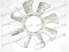 Вентилятор радиатора двигателя H.GRACE с 91г. дв.D4BA,D4BX,GALLOPER,PORTER до 04г. (25261-42100)  Б/У