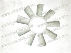 Вентилятор радиатора двигателя S.Y.ISTANA для вискомуфты с центральным болтом б/у